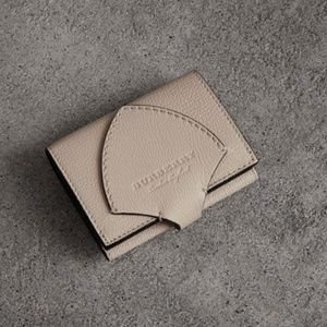 $490 Equestrian Two Tone Burberry Leather Wallet
